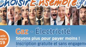 «ÉNERGIE MOINS CHÈRE ENSEMBLE» RÉSULTATS CAMPAGNE 2019
